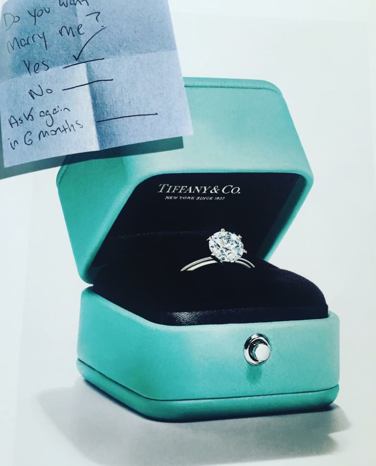 Particularly my breakfast at Tiffany diamonds & Co