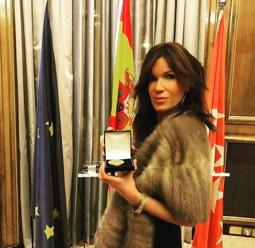 Medalla de oro Foro de Europa. Westin Palace, Madrid.