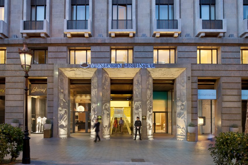 Mandarin Oriental Barcelona, nombrado «The best city hotel in 2011»