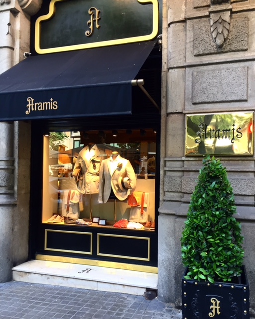 Aramis, a space of London's Old Bond Street moved to Barcelona