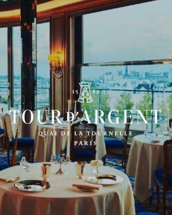 La Tour d'Argent. Un espacio de altura a la altura de la ciudad más elegante del mundo.